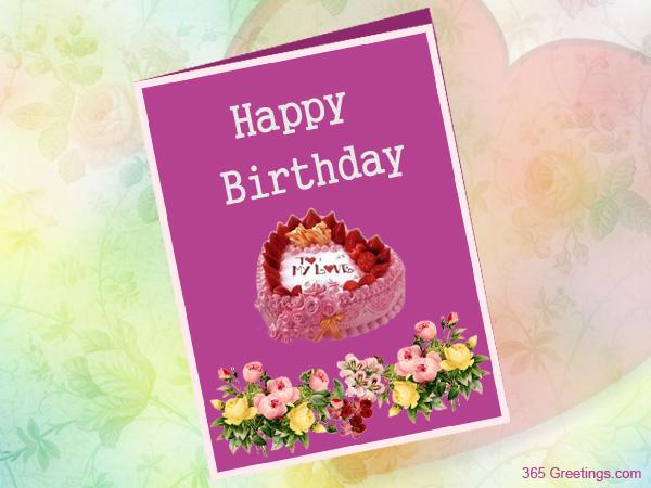 Birthday Cards For Facebook gangcraftnet – Facebook Birthday Cards