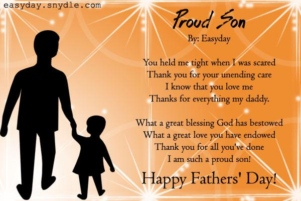 Happy fathers day from son easyday happy fathers day from son m4hsunfo
