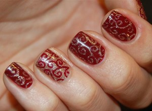 ... development of nail art designs which will be simply loved by people