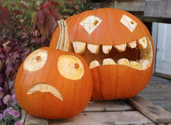 Cool-Easy-Pumpkin-Carving-designs
