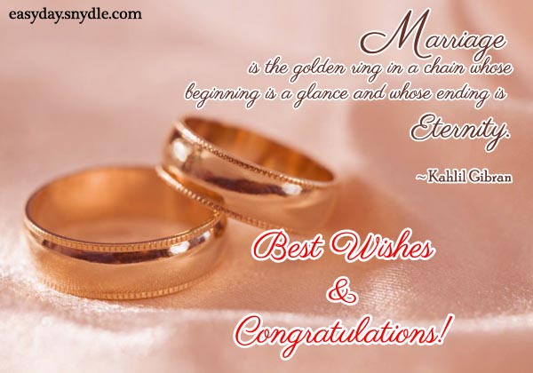 Wedding Congratulation Greetings Best Wishes