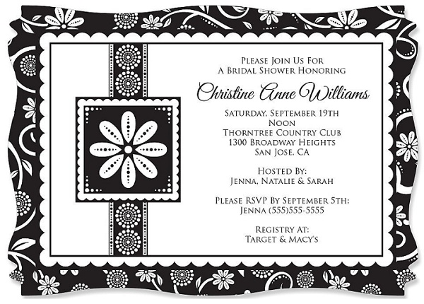 black-white-bridal-invitation