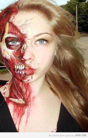 Zombie Halloween Goosebumps