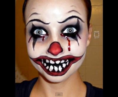 evil-clown-makeup