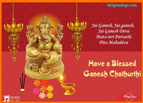 Ganesh Chaturthi Wishes Hindu
