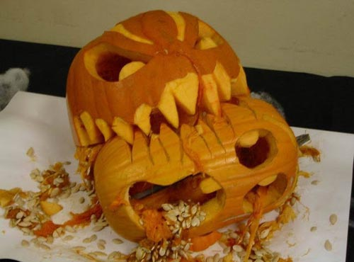 gory-pumpkin-carving