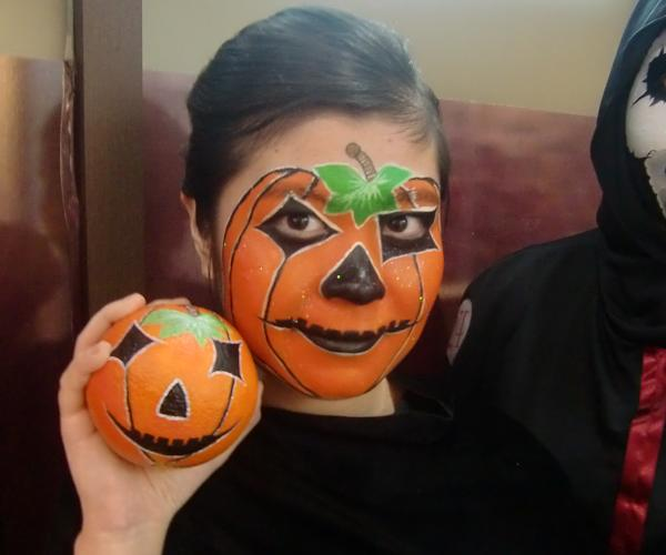 Easy Halloween Face Paint For Adults