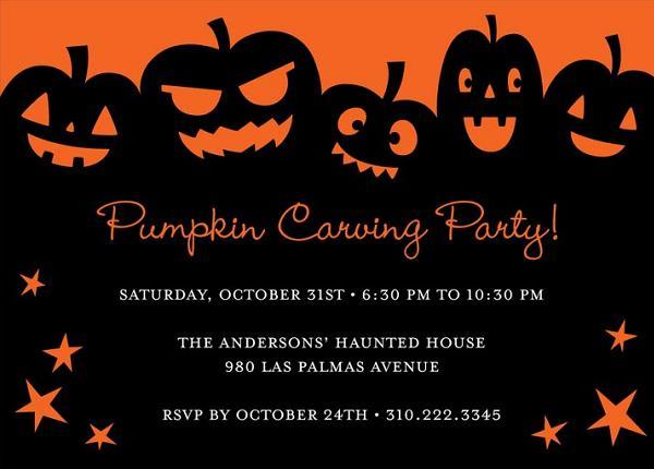 Halloween party invitations 2 easyday halloween party invitations 2 stopboris Images