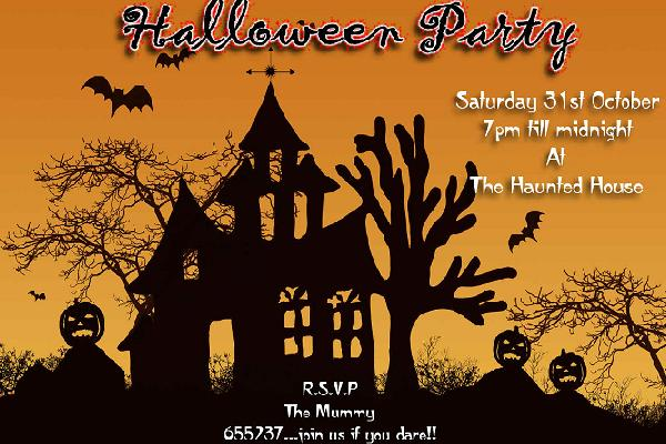 Halloween party invitations sample easyday halloween party invitations sample stopboris Choice Image