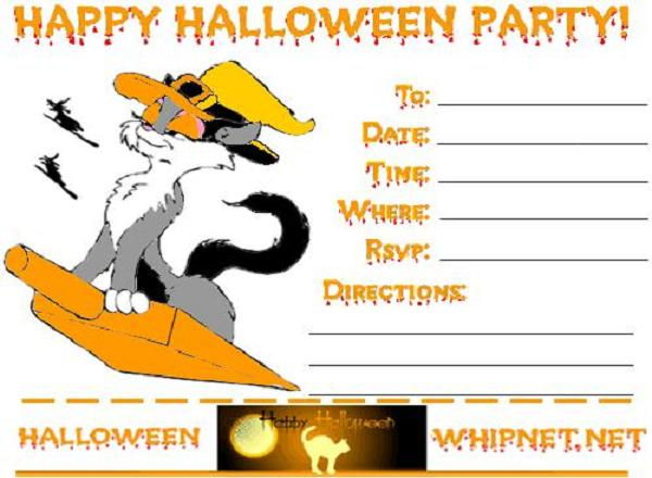 halloween-party-invitations