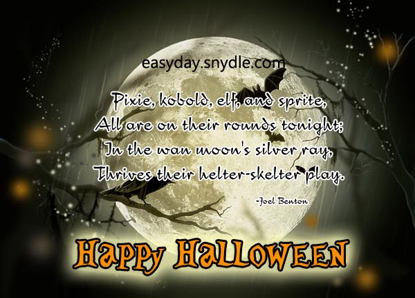 halloween quotes image - Scary Halloween Quotes And Sayings