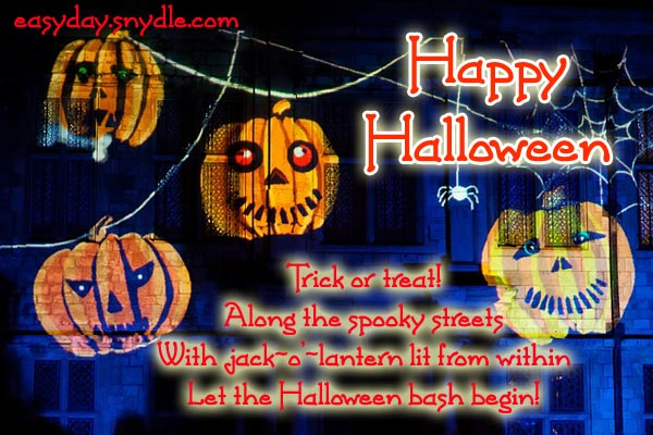 Happy Halloween Quotes, Wishes and Halloween Greetings for ...