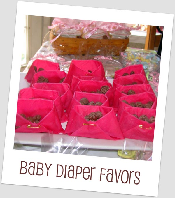 Homemade Baby Shower Favors For A Girl: Baby Shower Favors Ideas