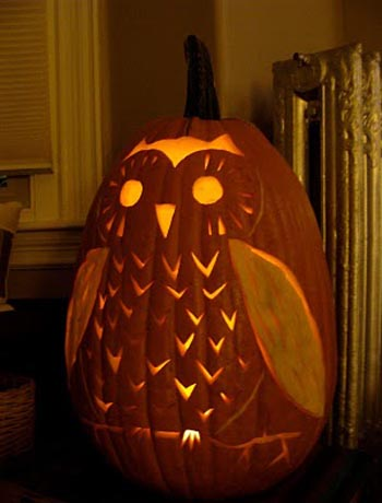 owl-pumpkin-carving
