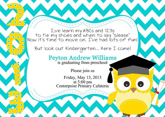 preschoolgraduationinvitation Easyday