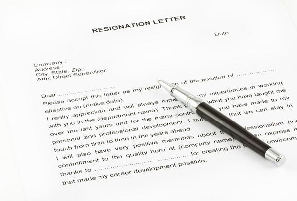 sample resignation letters Easyday