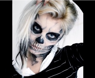 skeleton-halloween-makeup