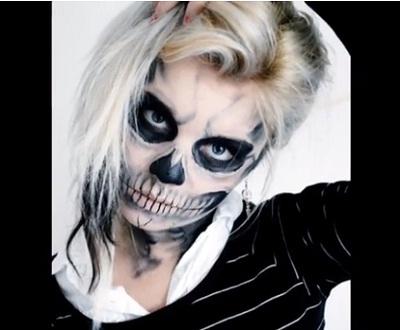 skeleton-halloween-makeup