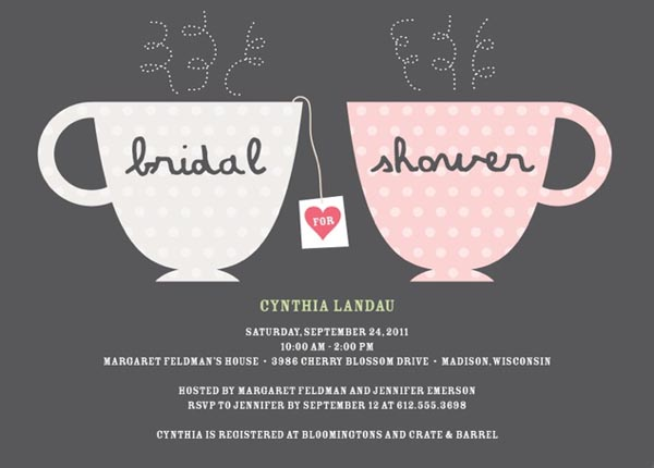 Around The Clock Wedding Shower Invitations was nice invitation template