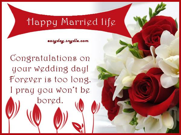 Funny Wedding Wishes, Wedding Messages Funny