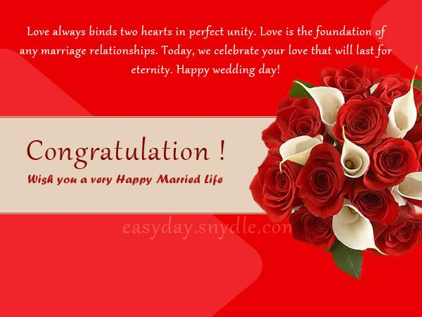 Top wedding wishes and messages easyday wedding wishes greetings m4hsunfo