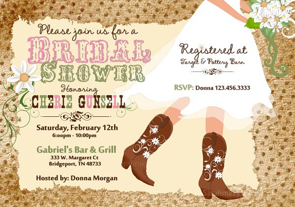 western-bridal-shower-invitation