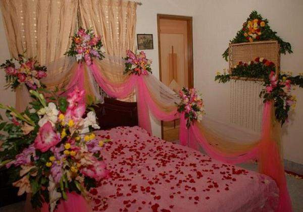 Pakistani Bridal Bed Room