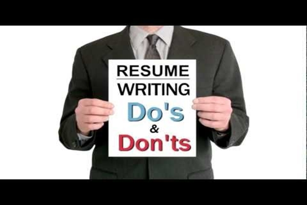 resume- do's and don'ts
