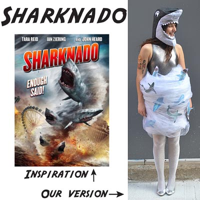 Sharknado costume - photo#28