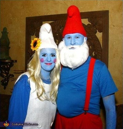 smurf-diy-halloween-costume
