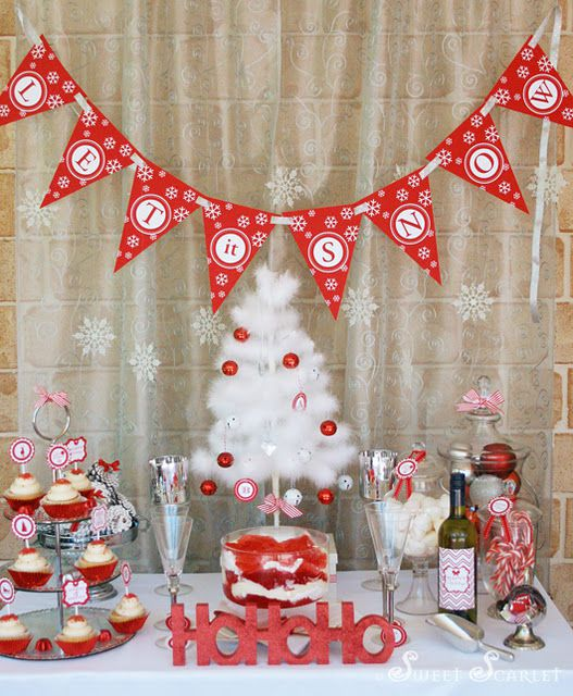 Cheap Christmas Party Decorating Ideas