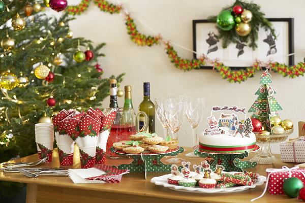 Christmas table decor ideas easyday Christmas table dressing