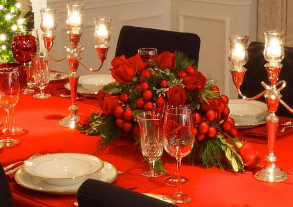 Christmas table decorations ideas easyday for Xmas decoration ideas 2016