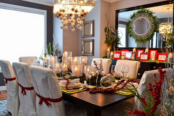 Christmas Table Settings elegant christmas table decorations for 2016 - easyday