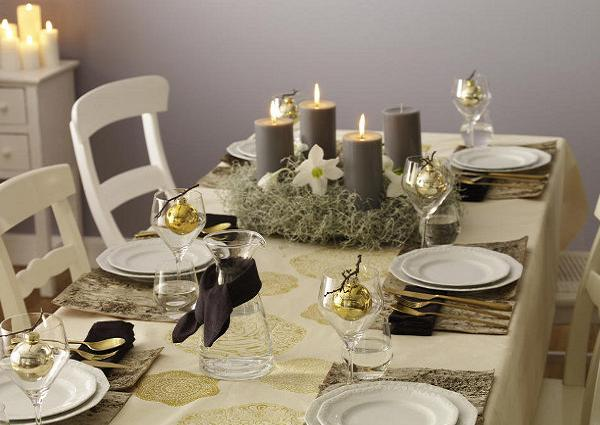 Diy Christmas Table Decorations