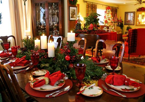 Elegant Christmas Table Settings Easyday