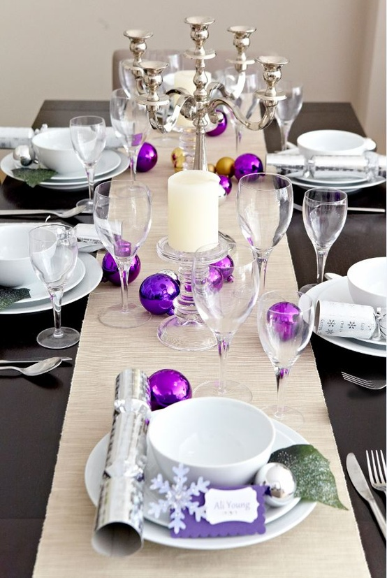 purple christmas decorating ideas - Purple Christmas Decorations Ideas