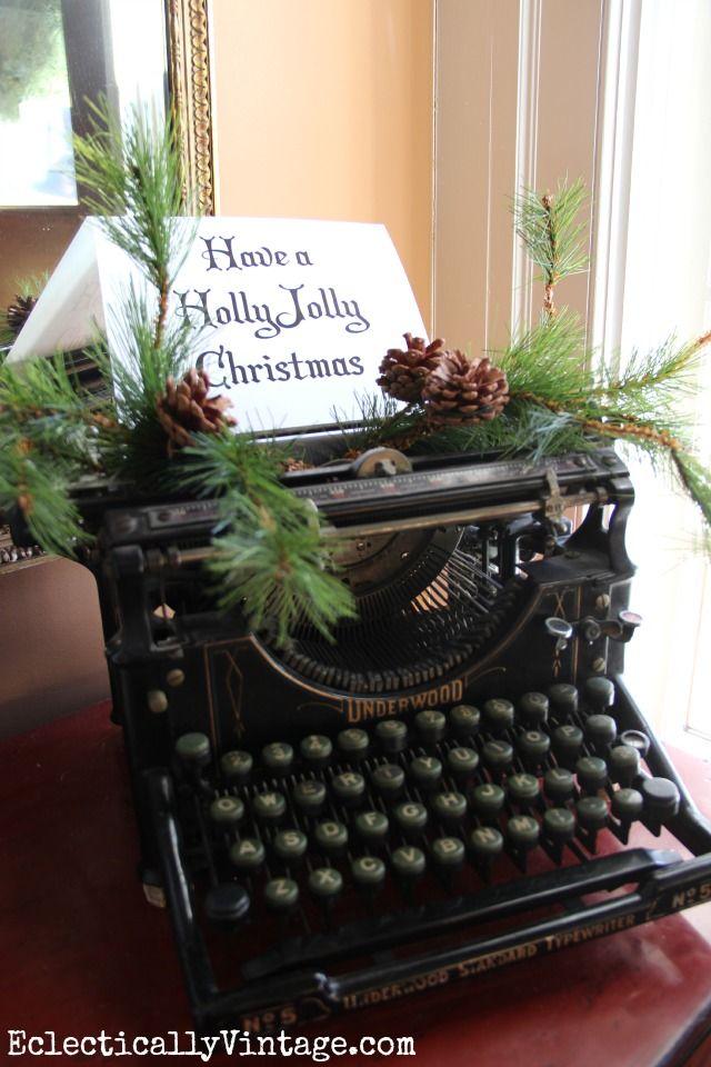 vintage christmas decorating ideas 01 - Vintage Christmas Decorating Ideas