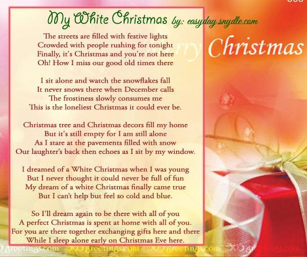 best-christmas-poems - Easyday