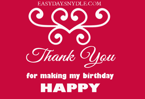 Birthday thank you messages easyday birthday thank you messages m4hsunfo