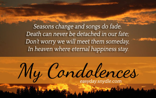 Deepest Condolences Messages For Cards And Flowers - Easyday