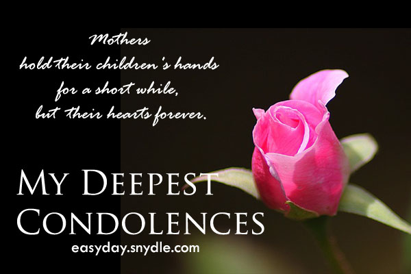 condolences-messages-on-death-of-mother