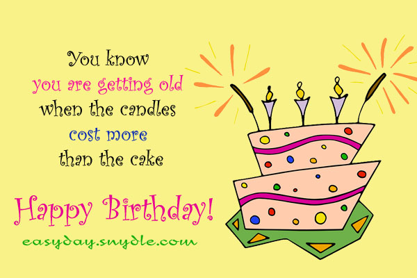 Funny Birthday Wishes Quotes and Funny Birthday Messages Easyday – Funny Birthday Cards About Getting Old