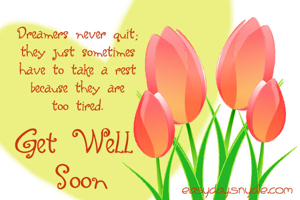 Get well soon messages wishes and get well quotes easyday get well soon messages m4hsunfo Choice Image