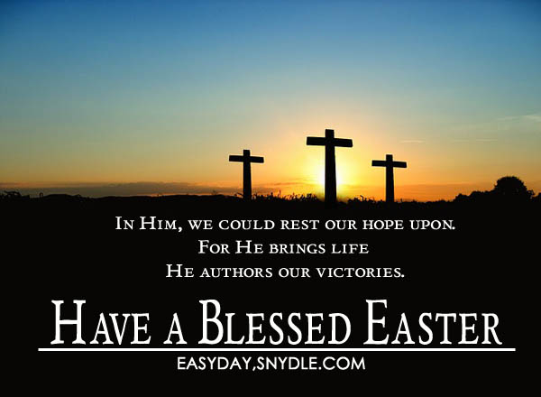 Easter greetings messages and religious easter wishes - Christian easter images free ...