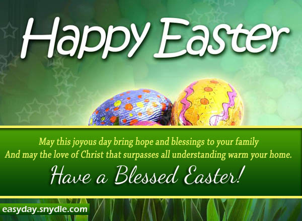 easter greetings, messages and religious easter wishes  easyday, Greeting card