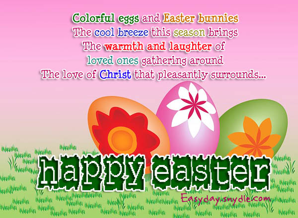 Easter Greetings Messages and Religious Easter Wishes Easyday – Easter Greeting Card Sayings