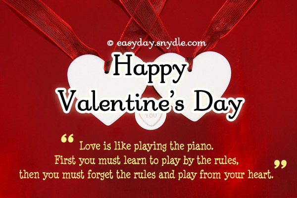 Happy Valentines Day Quotes Custom Happyvalentinesdayquotes Easyday