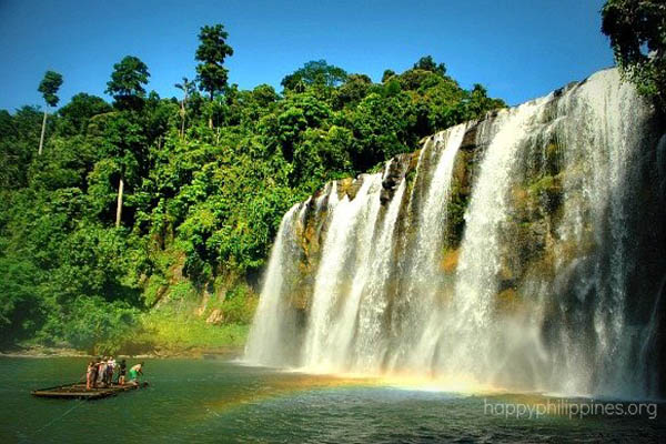 Tinuy-An Falls, Bislig Photo: Yahoo