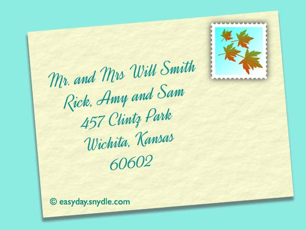 address-wedding-envelopes-with-children